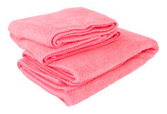 Microfibre Cleaning Cloths Royalty Free Stock Images