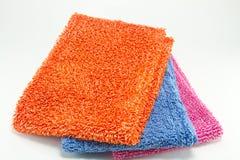 microfibre doeken Stock Fotografie