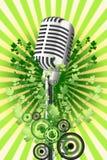 Microfone Fotografia de Stock