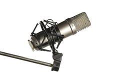 Microfone imagem de stock
