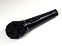 Microfone imagem de stock royalty free