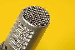 Microfone Fotos de Stock Royalty Free