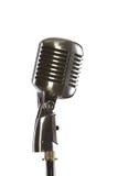 Microfone antiquado do vintage Imagem de Stock
