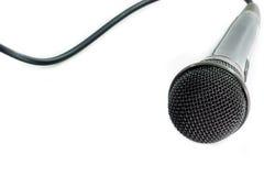 Microfone audio Fotografia de Stock