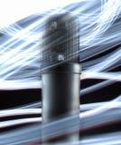 Microfone da câmara de ar Fotos de Stock