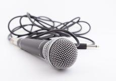 Microfone dinâmico Fotos de Stock Royalty Free