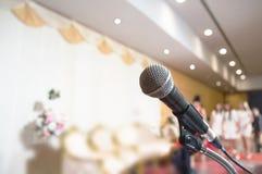 Microfone do anúncio Fotos de Stock