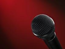 Microfone do estágio fotos de stock