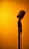 Microfone do estúdio Fotografia de Stock Royalty Free