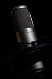 Microfone do tubo do condensador Fotografia de Stock