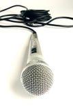 Microfone e cabo Imagem de Stock Royalty Free