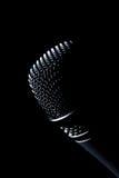 Microfone escuro Imagem de Stock