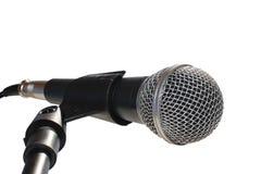 Microfone isolado Fotos de Stock Royalty Free