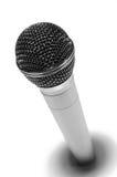 Microfone metálico Fotografia de Stock Royalty Free