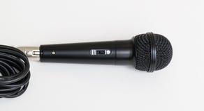 Microfone para o karaoke Fotografia de Stock