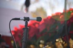 Microfone para um evento Fotos de Stock