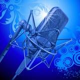 Microfone profissional Imagem de Stock Royalty Free