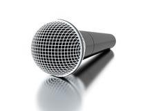 Microfone rendido ilustração stock