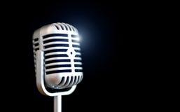Microfone retro fotos de stock royalty free