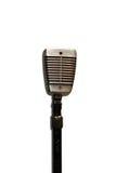 Microfone velho fotografia de stock