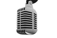 Microfone velho Fotos de Stock Royalty Free