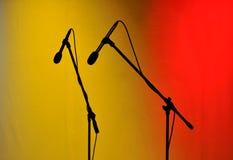 Microfones Fotos de Stock Royalty Free
