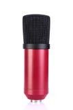Microfones de condensador fotografia de stock royalty free