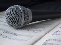 Microfono 04 Fotografia Stock