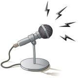 Microfono Fotografie Stock