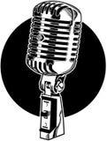 Microfono illustrazione vettoriale