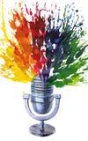 Microfono Immagine Stock Libera da Diritti