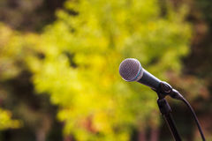 Microfono Immagini Stock