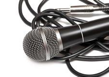 Microfono cardioide Fotografia Stock