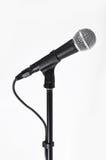 Microfono con un cavo Immagini Stock
