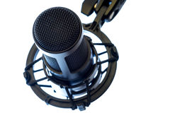 Microfono a condensatore fotografia stock libera da diritti