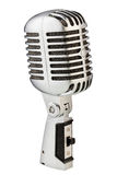 Microfono d'annata del metallo Immagini Stock Libere da Diritti