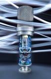 Microfono del tubo fotografie stock libere da diritti