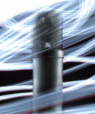 Microfono del tubo fotografie stock
