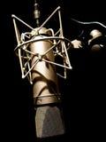 Microfono dell'annata fotografia stock libera da diritti