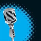 Microfono dell'annata   Fotografie Stock