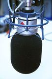 Microfono dello studio fotografie stock