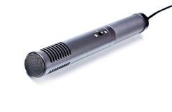 Microfono di condensatore grigio Fotografie Stock