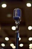 Microfono retro Immagine Stock