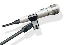 Microfono senza fili Immagini Stock