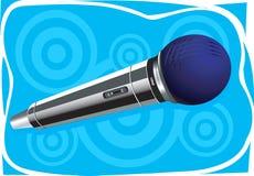 Microfono senza fili Fotografia Stock Libera da Diritti