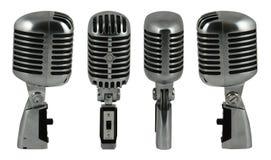 Microfoon 1 royalty-vrije stock afbeelding