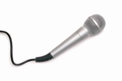 Microfoon. Royalty-vrije Stock Afbeelding