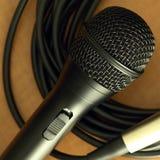 Microfoon Stock Foto