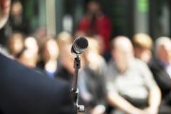 Microfoon Royalty-vrije Stock Afbeeldingen