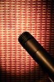 Microfoon bij ampère Royalty-vrije Stock Foto